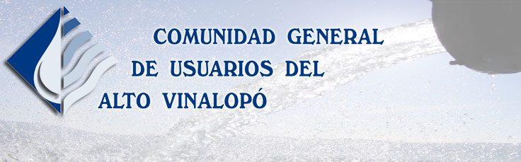 Comunidad General de Usuarios del Alto Vinalopo